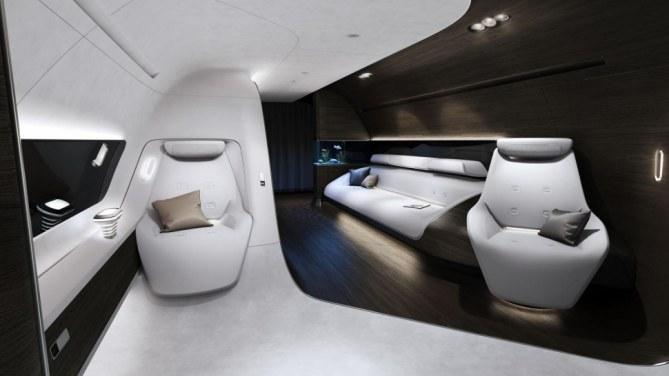 Cabina de Mercedes-Benz para Lufthansa