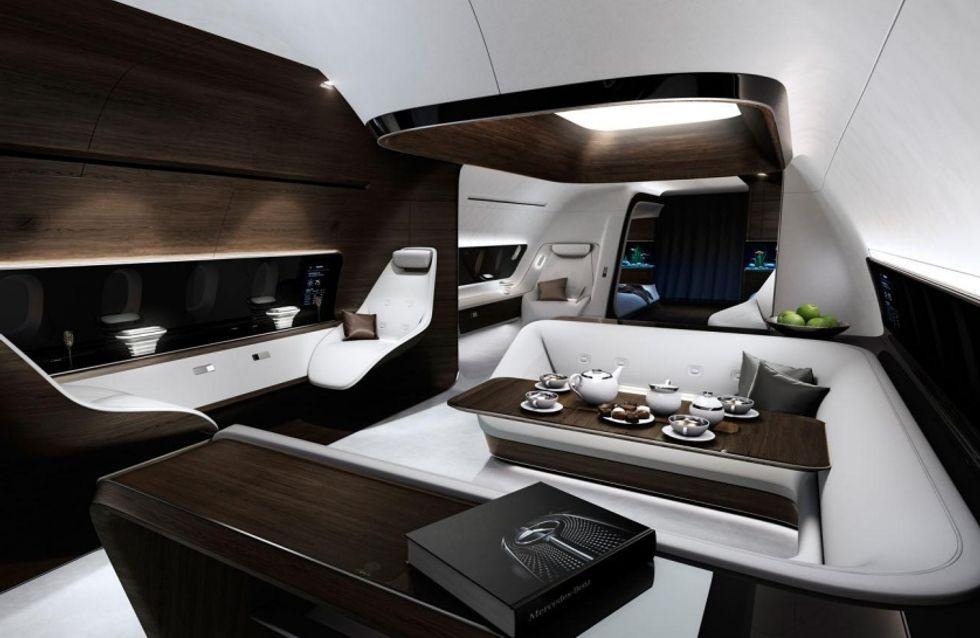 Los jets privados de Lufthansa se rinden al lujo de Mercedes-Benz