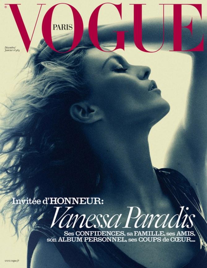Vanessa Paradis pour Vogue