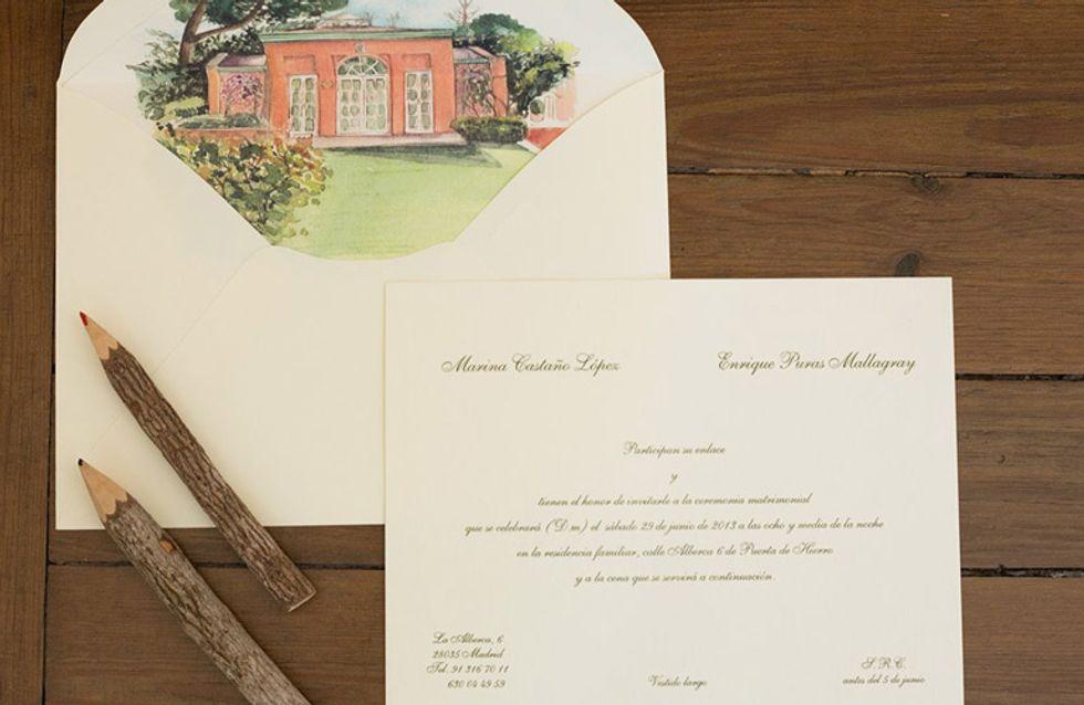 Papelería para bodas: invitaciones y demás tarjetas