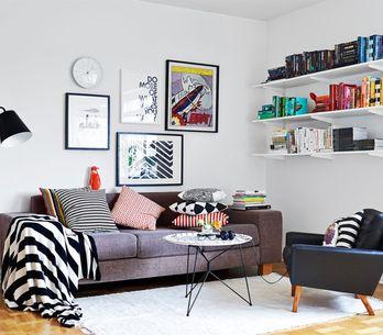 ¿Cómo decorar con cuadros las paredes? Consigue la combinación perfecta