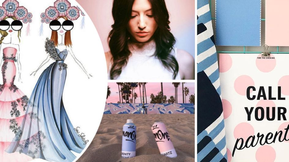 Rosa Quartzo e Azul Serenity: conheça as cores eleitas pela Pantone para 2016