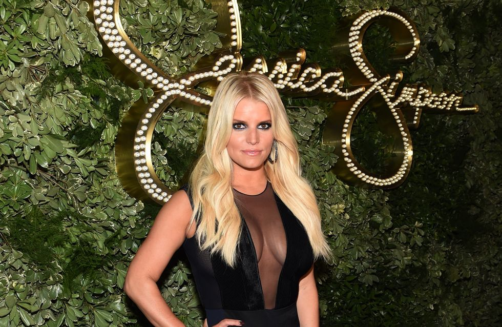 Jessica Simpson sans maquillage pour un selfie avec son fils (Photo)