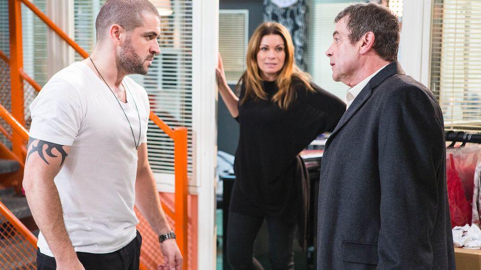 Coronation Street 6/1 - Johnny meets Aidan's fist of fury