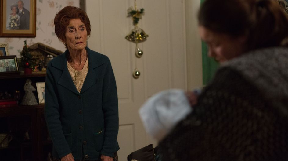 Eastenders 7/1 - Kat steps up and takes control as they wait for the ambulance