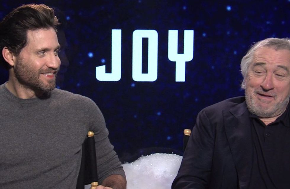 Ouais, on a interviewé Robert de Niro pour JOY (Vidéo)