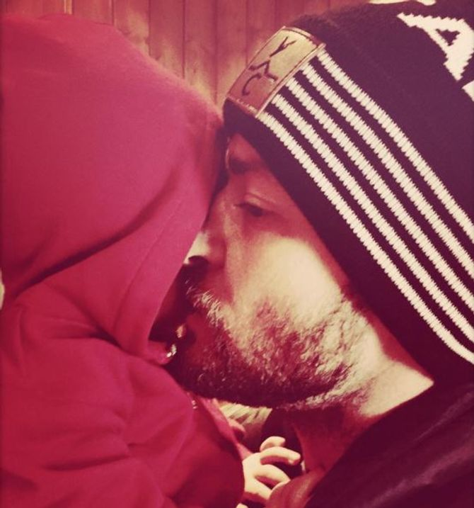 L'adorable câlin de Justin Timberlake et Silas