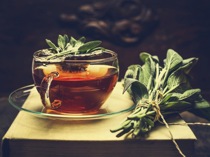 1. Beber té