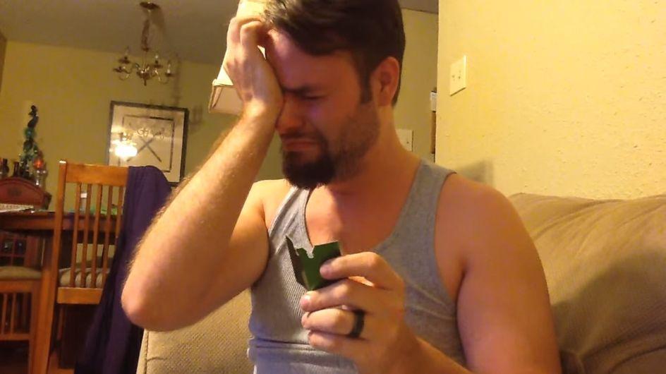 Dieser Gehörlose erfährt, dass er Papa wird. Seine Reaktion ist unglaublich rührend!
