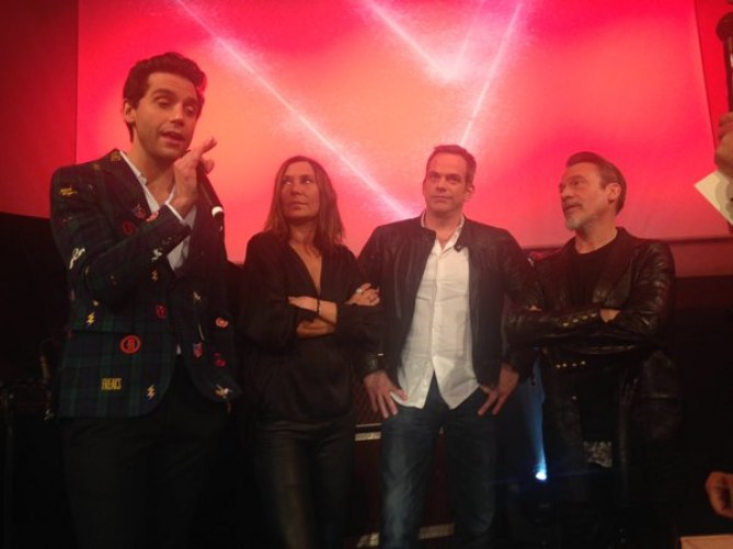 Mika, Zazie, Garoue t Florent Pagny, les 4 coachs de The Voice 5