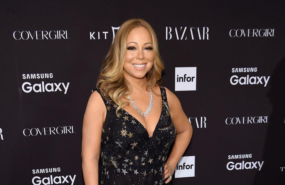 Mariah Carey sexy en maillot au milieu de la neige (Photo)