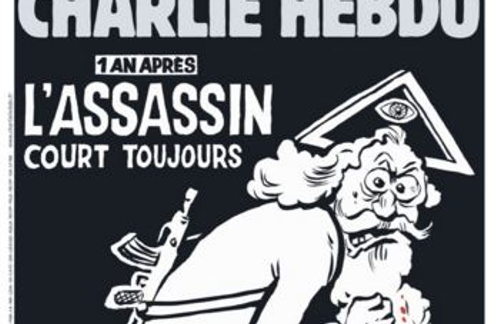 Charlie Hebdo dévoile la Une de son numéro hommage un an après les attentats