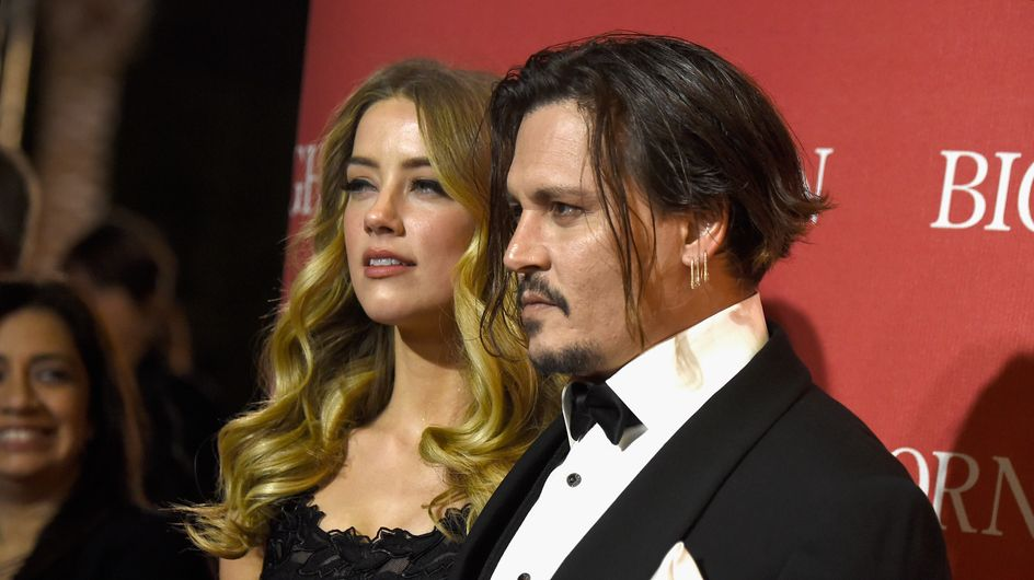 Johnny Depp et Amber Heard complices sur le red carpet (Photos)