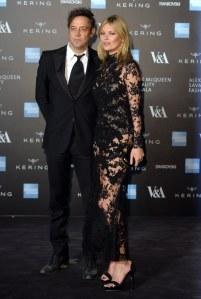 Kate Moss et Jamie Hince en 2015