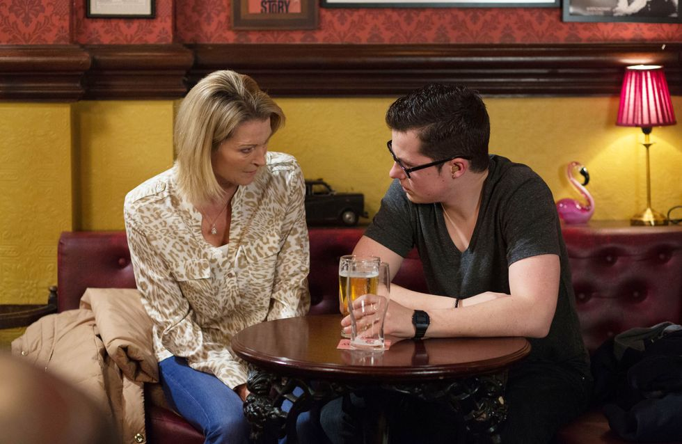 Eastenders 15/1 - Phil reaches a new low