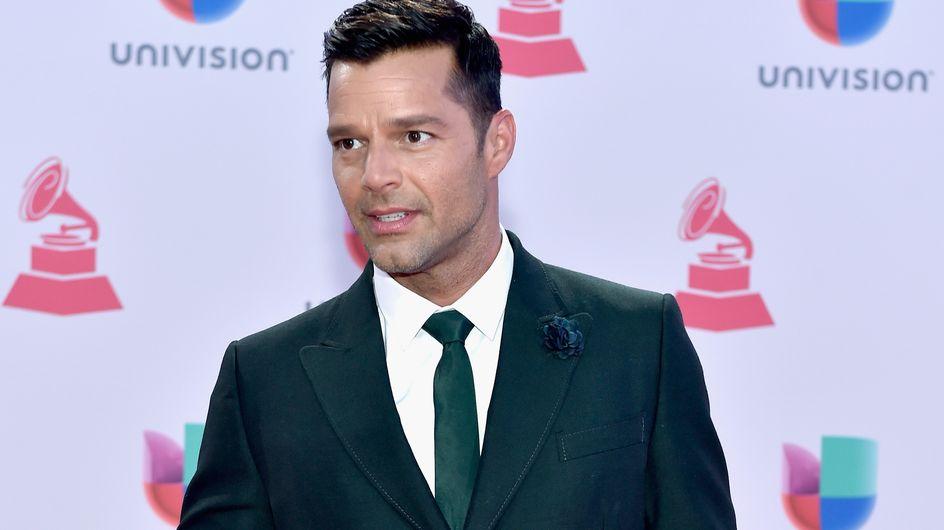 Ricky Martin en maillot exhibe son corps musclé pour la nouvelle année (Photos)