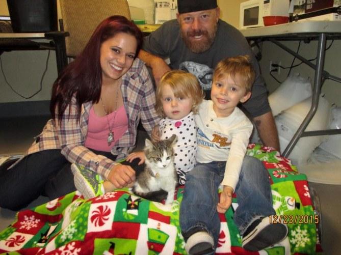 Scarlette Tipton et sa famille