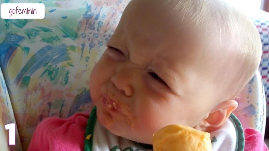 Zitrone, Spiegel und Co.: SO sieht es aus, wenn Babys zum ersten Mal Dinge erleben