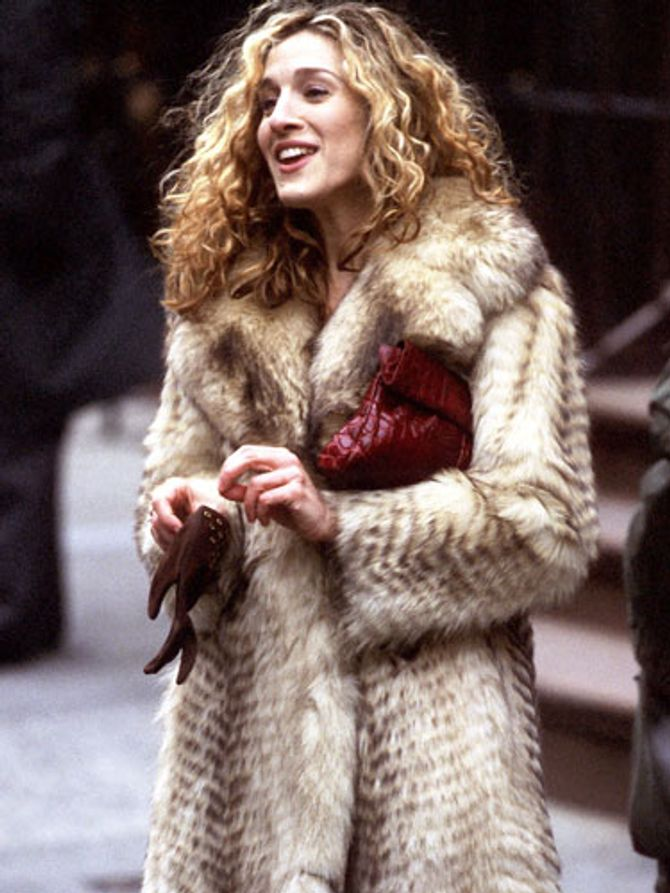 Carrie Bradshaw dans Sex and the city