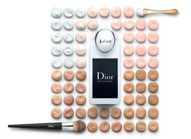 Dior Skin Analyzer, diagnostique soin disponible dans les boutiques Dior et au Sephora Champs Elysées