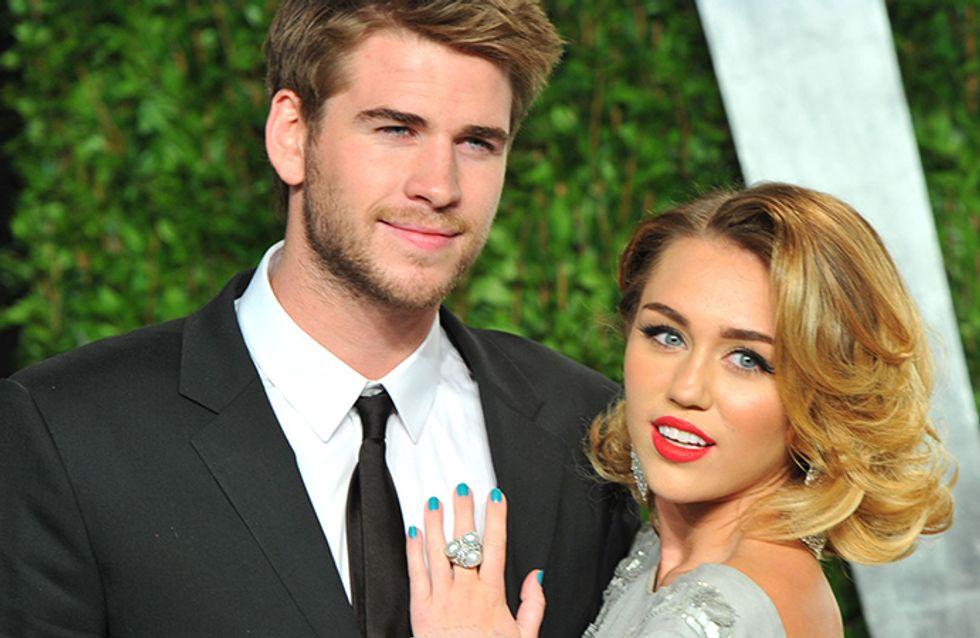 Parece que Miley Cyrus e Liam Hemsworth estão ensaiando uma volta. Quem shippa?