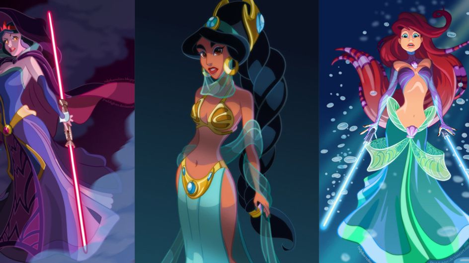 These Disney Princesses As Star Wars Characters Are Brilliant