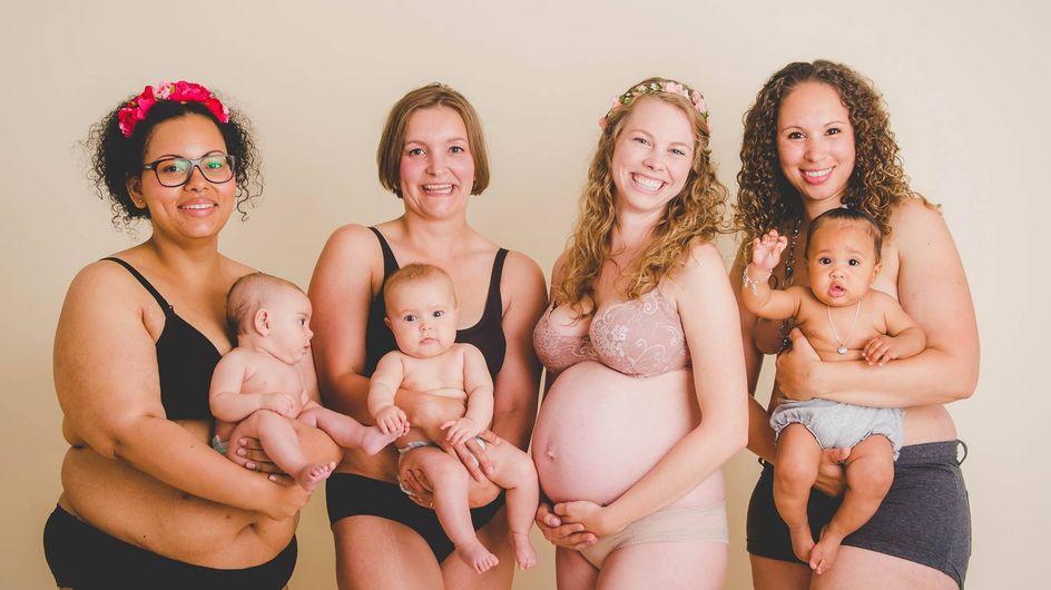 Unretuschiert & natürlich: So sehen Mamas nach der Schwangerschaft aus