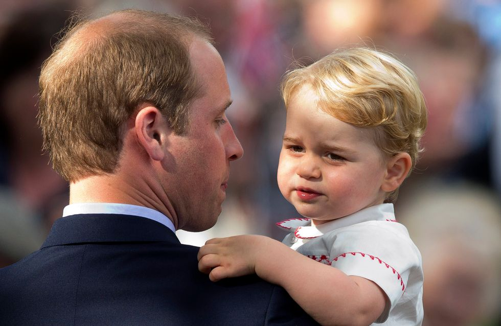 Le prince George prêt pour son premier jour à la crèche (Photos)
