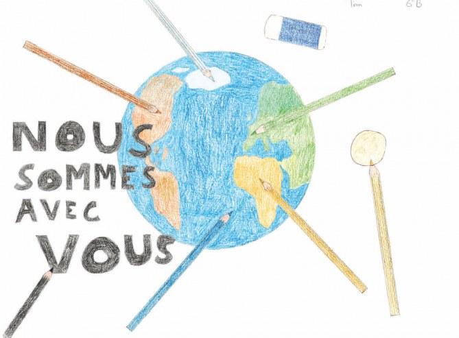 Le dessin de Tim, 12 ans