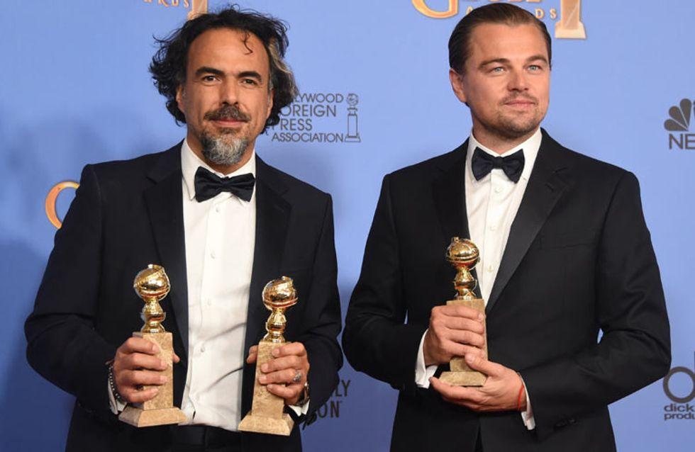 Todos los ganadores de los Globos de Oro 2016: 'El renacido' da la sorpresa