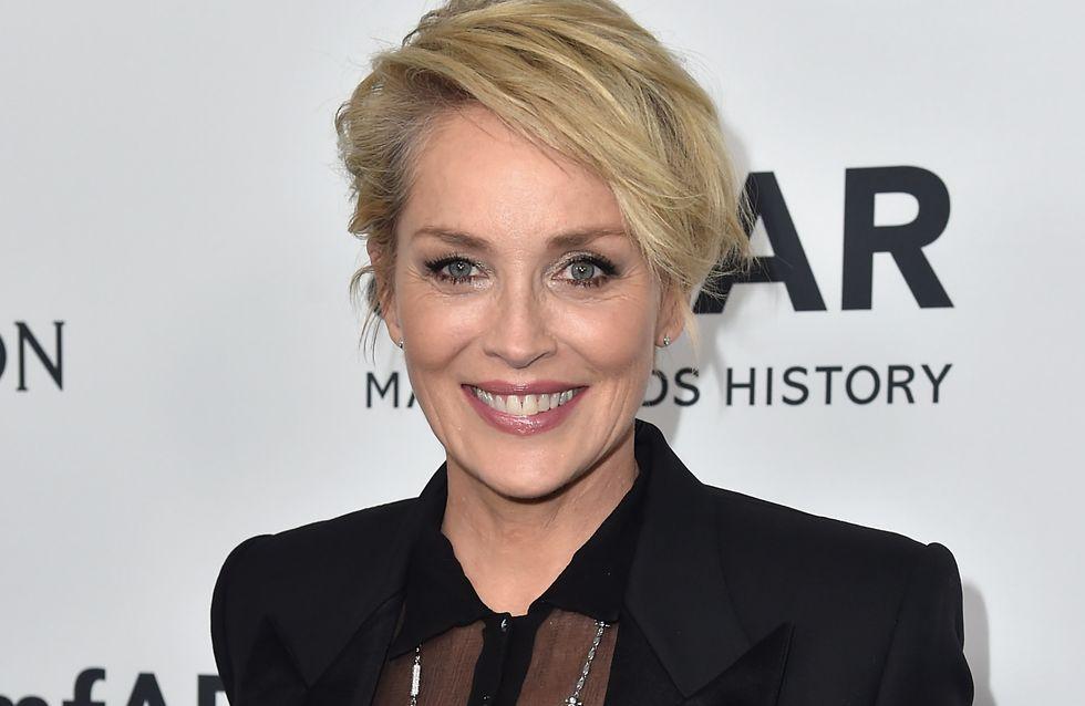 Sharon Stone irriconoscibile senza trucco (foto)