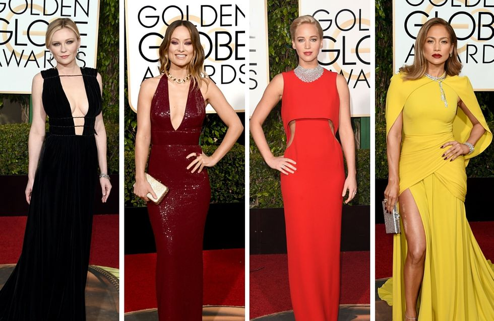 The Best Looks From The Golden Globes 2016 Red Carpet