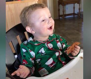 Quando la prima parola di tuo figlio è...Bacon!