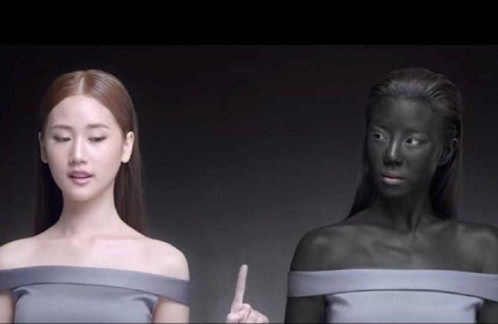 Retiran un anuncio de cosmética asiática por racista