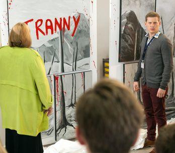 Hollyoaks 18/1 - Tegan is increasingly suspicious of Cameron