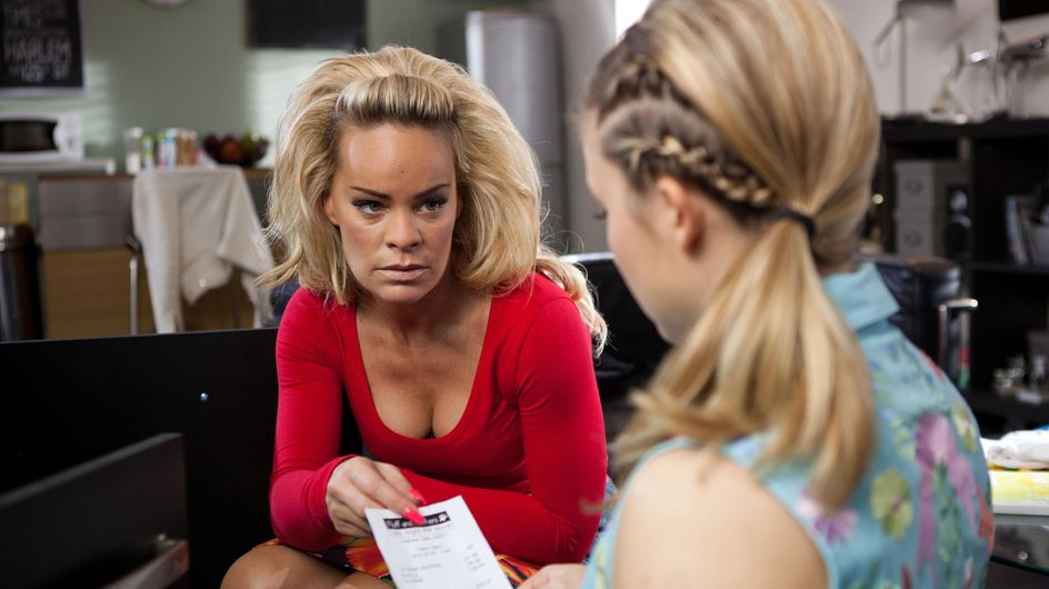 Hollyoaks 20/1 - Lindsey reveals that the father is someone from work