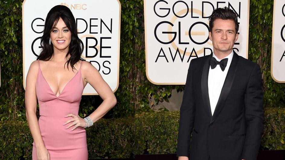 Orlando Bloom et Katy Perry pris en plein flirt à l'after party des Golden Globes (Photos)