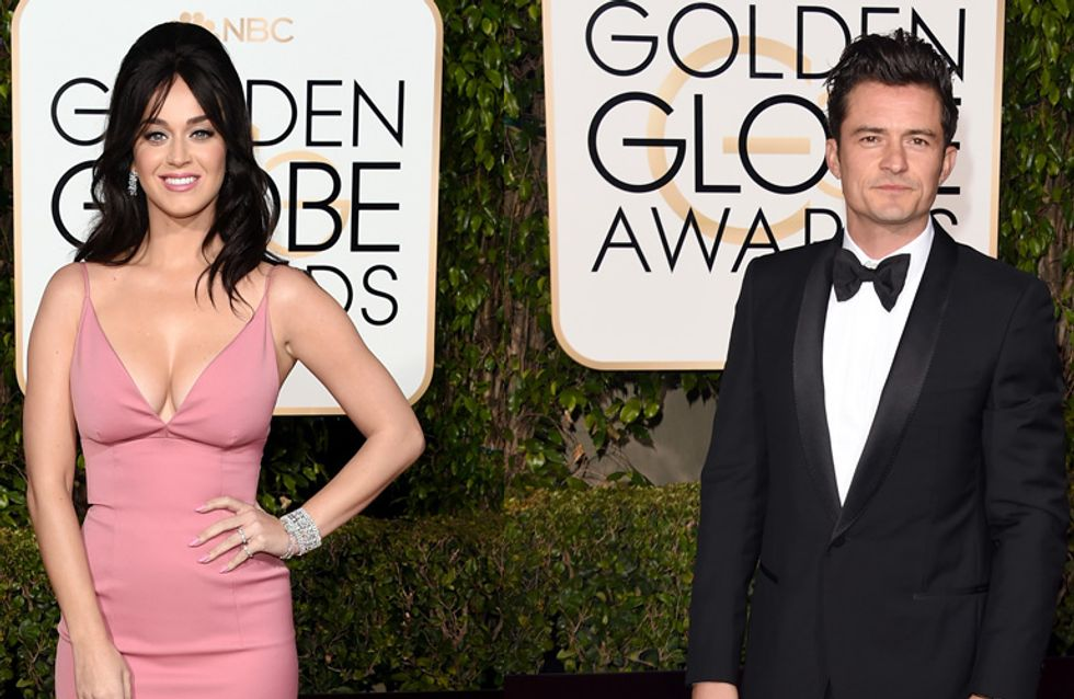 Orlando Bloom et Katy Perry pris en plein flirt à l'after party des Golden Globes (Photos)