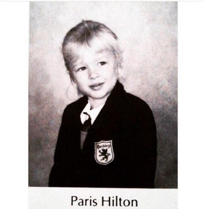 Paris Hilton à 6 ans