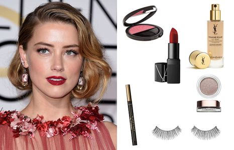 Copia el maquillaje de Amber Heard