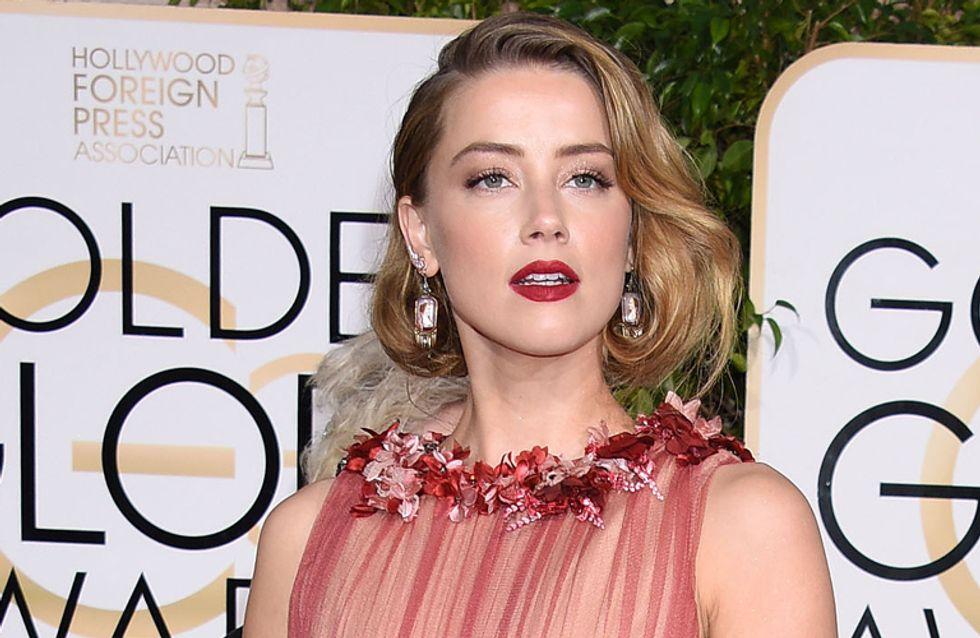 Maquíllate como... Amber Heard en los Globos de Oro