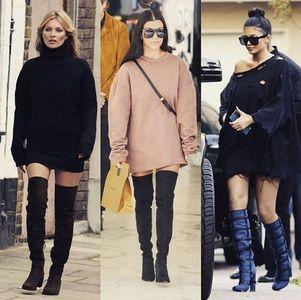 Lampshading: Kate Moss, Kourtney Kardashian, Kylie Jenner