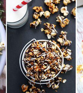 Der Mega-Trend aus den USA: 4 Popcorn-Rezepte, die deine Geschmacksnerven zum Po