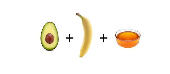 Nourishing Mask with Avocado and Banana
