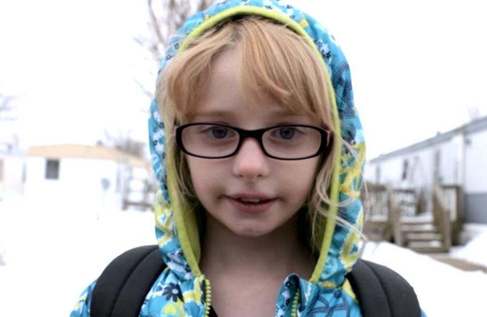 Moquée à cause de ses lunettes, cette petite fille a décidé de se battre contre le harcèlement
