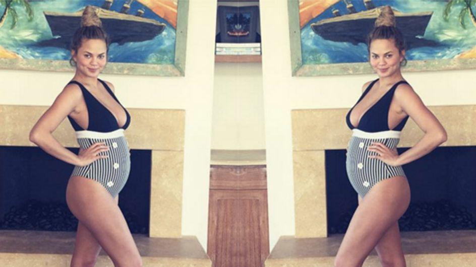 15 Ways Chrissy Teigen Is Pregnancy Goals In Every Way