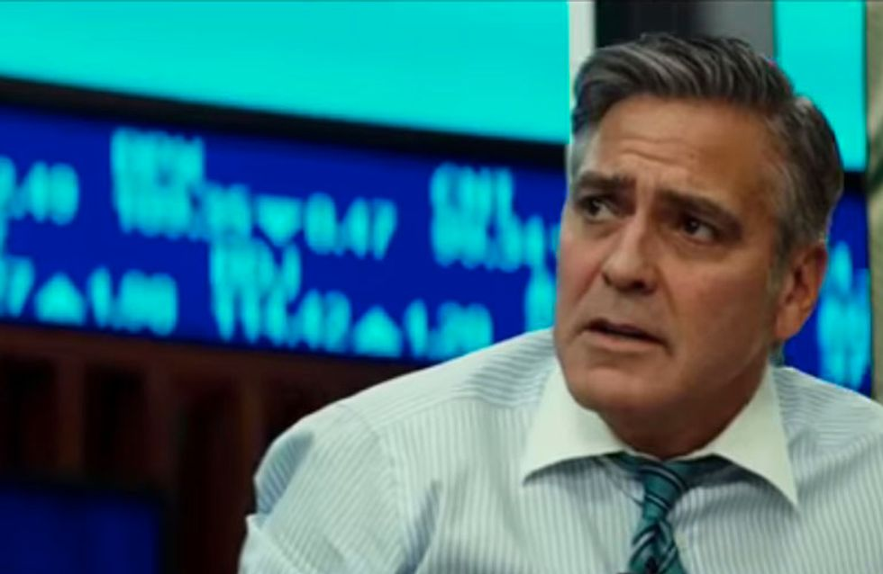 WATCH: George Clooney Is Taken Hostage In The Terrifying Trailer For 'Money Monster'