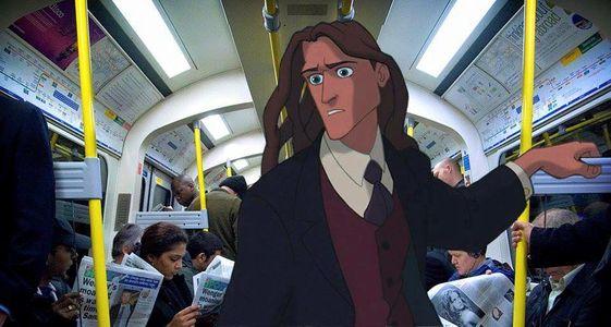Tarzan in metropolitana