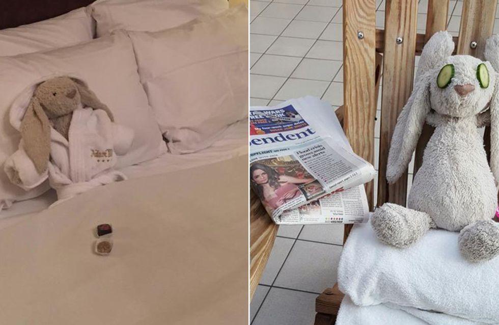 Was dieses Hotel für das verlorene Kuscheltier eines kleinen Mädchens macht, geht ans Herz