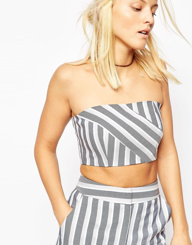 Crop top Asos Collection